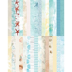 Picture of Pocket Sweet Summer Border Strips by Katie Pertiet - Set 30